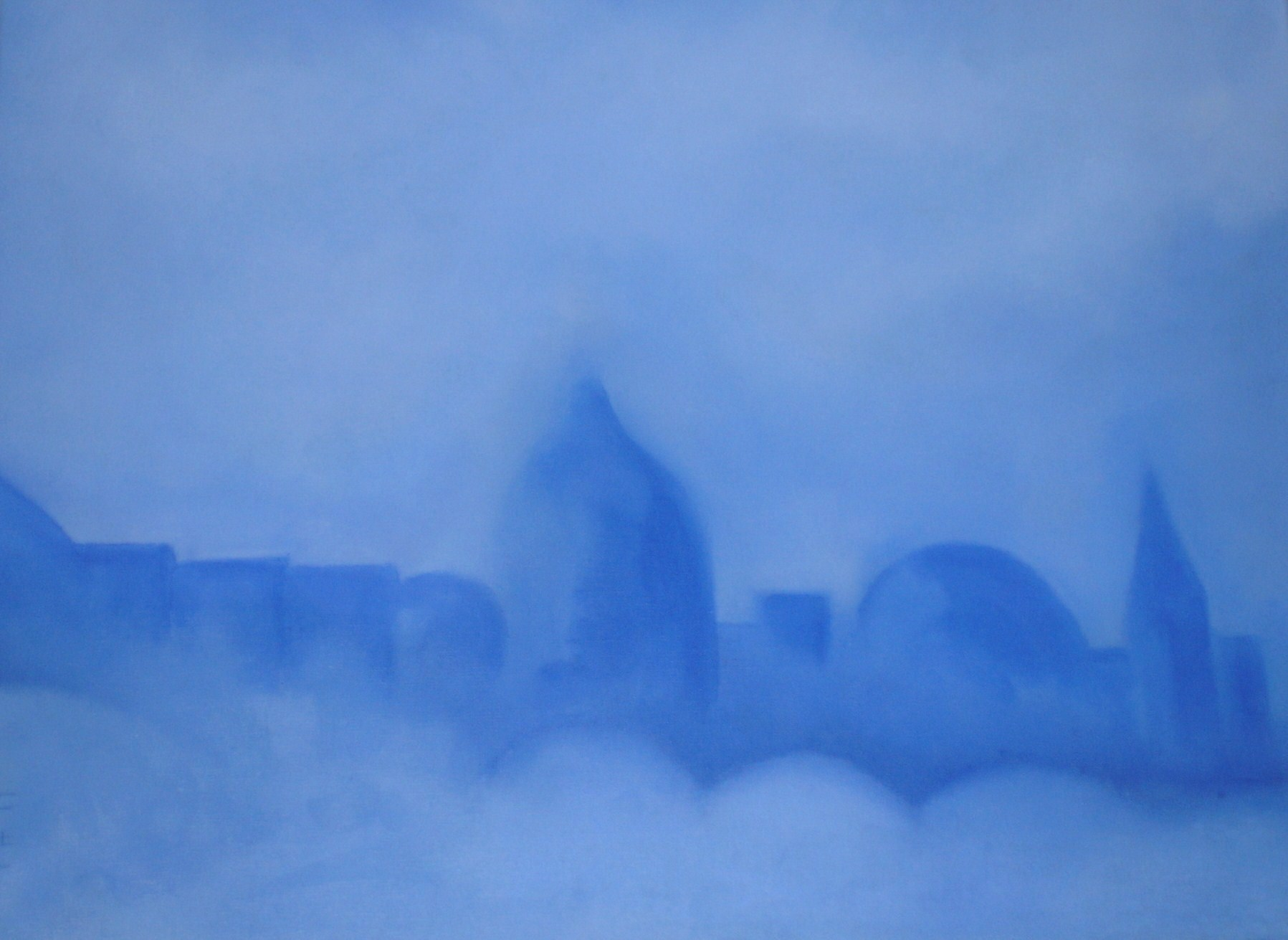 Venise en bleu