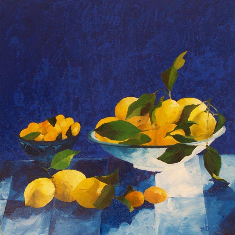 bleu citron