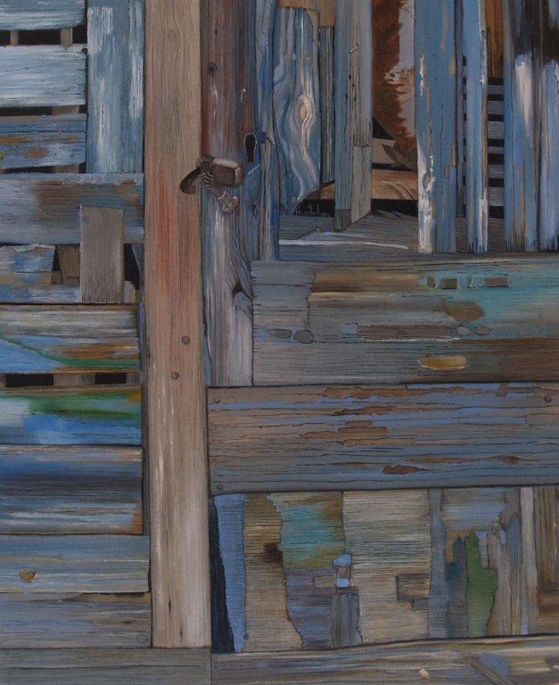 portillon en bois flotté